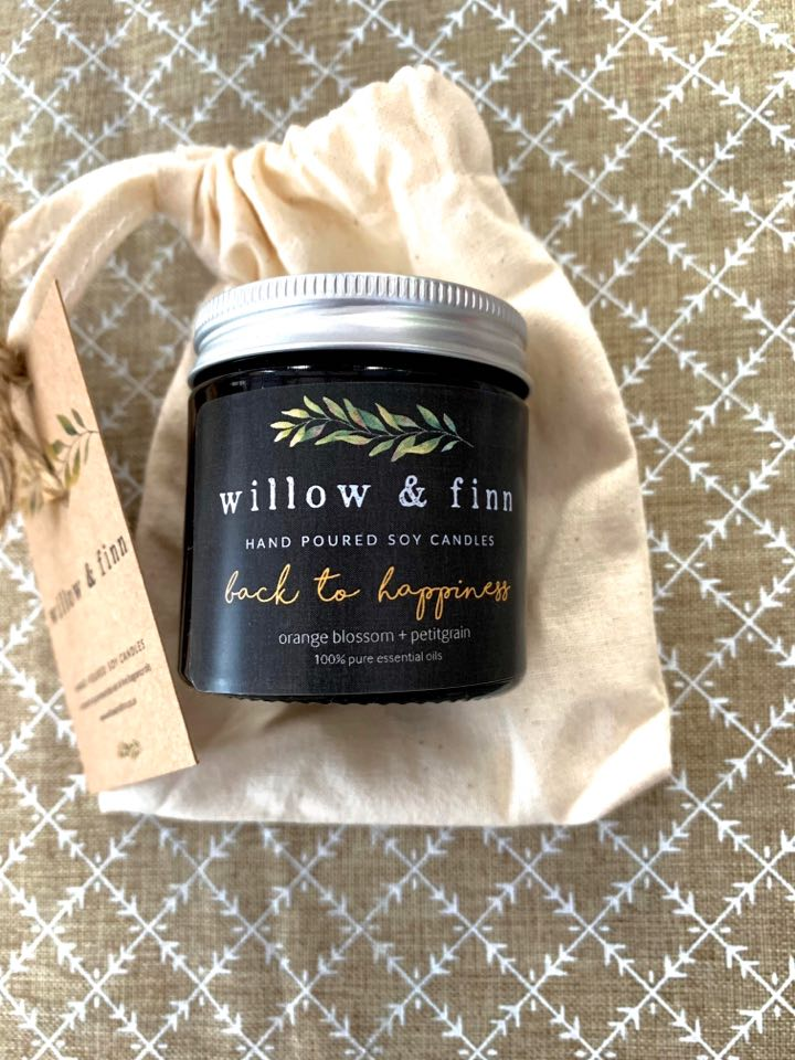Willow and Finn candle